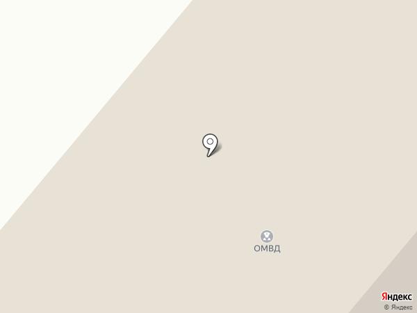 Отделение МВД России по Сургутскому району на карте Белого Яра