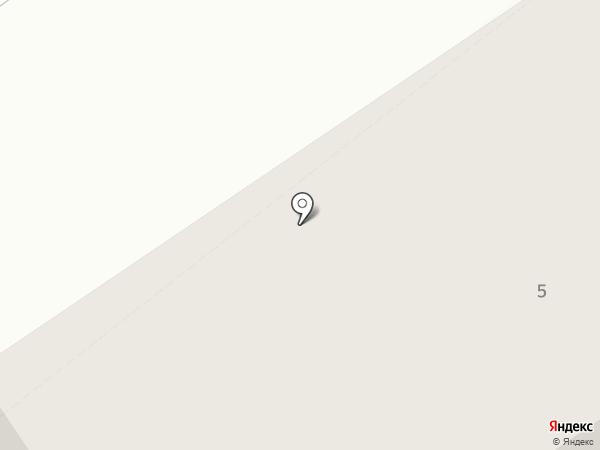 Общежитие на карте Белого Яра
