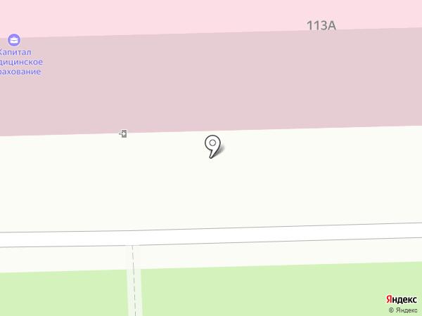 Лекария на карте Омска