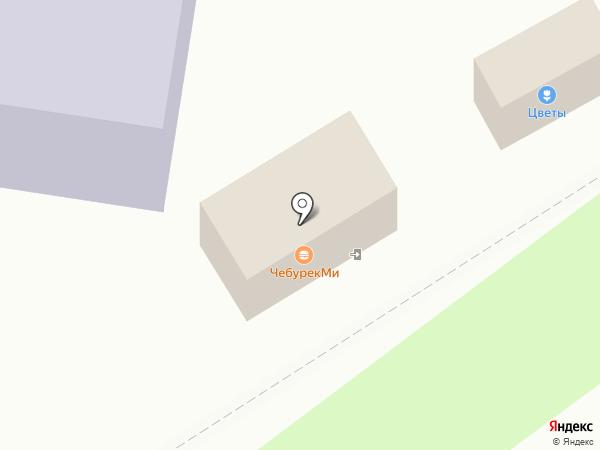 Шашлычный домик на карте Белого Яра