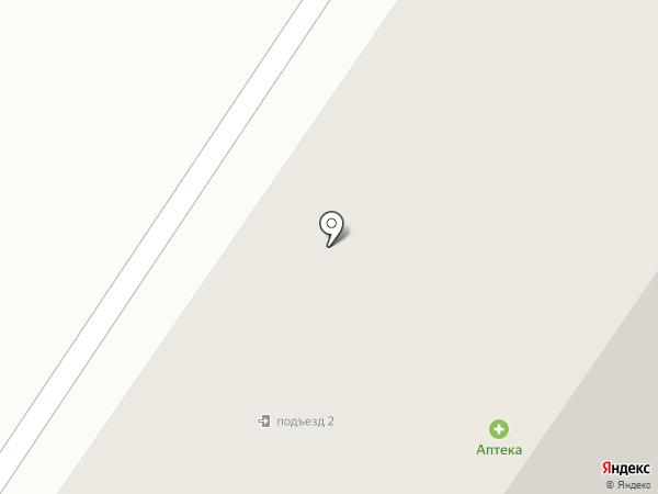 Крома на карте Белого Яра