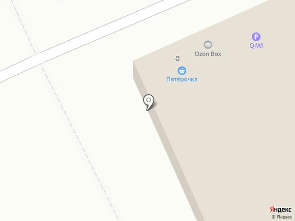 Магазин выпечки на карте Омска