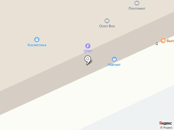 Магнит на карте Омска