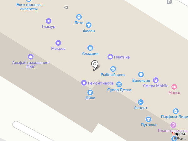 Фермерский привоз на карте Омска