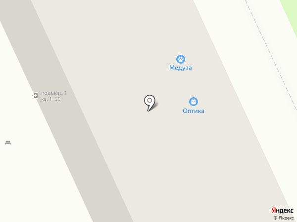 Обувной №1 на карте Омска