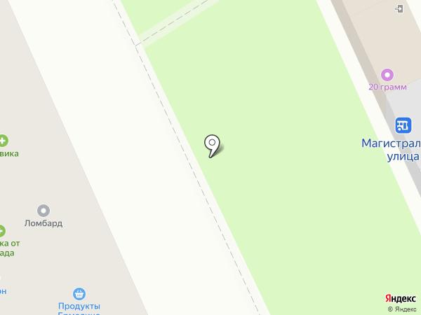 NPS на карте Омска