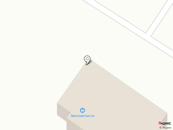 Магазин автозапчастей на карте Белого Яра