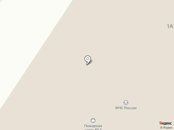 Специализированная пожарная часть №1 по тушению крупных пожаров на карте Белого Яра