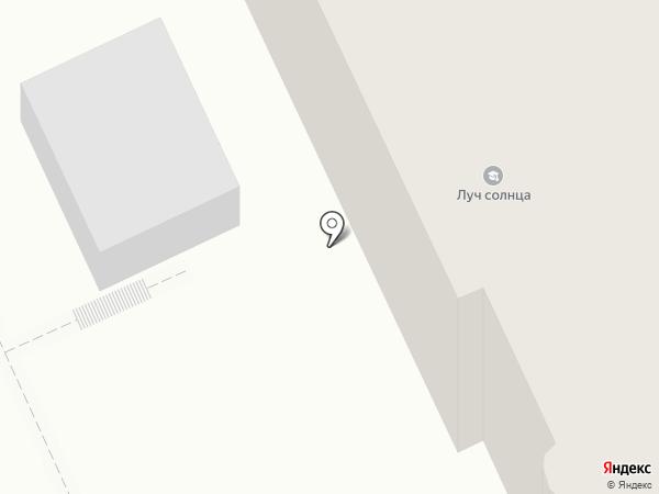 Павлин на карте Омска