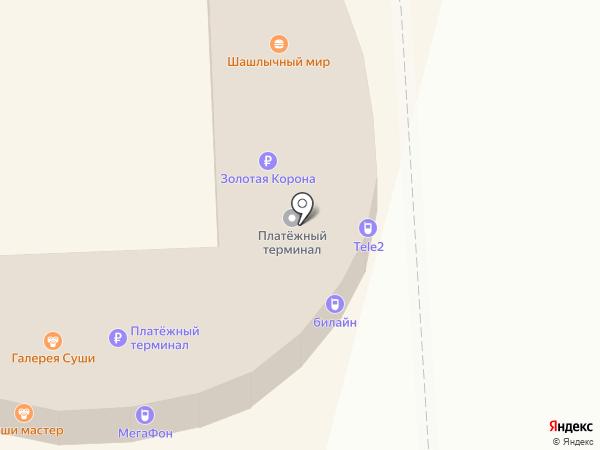 Престиж букет на карте Омска