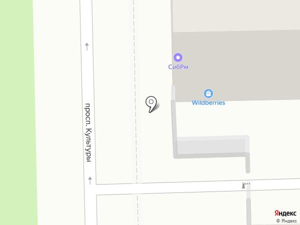 Всё для кондитера на карте Омска