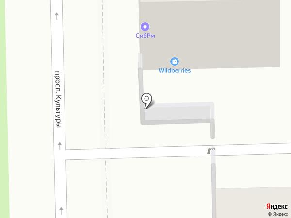 Вилена на карте Омска