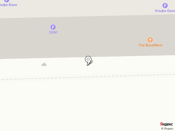 The BaseMent на карте Омска