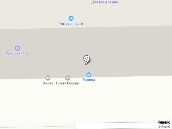 Гарант-Сервис на карте Омска