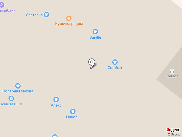 Vanille на карте Омска