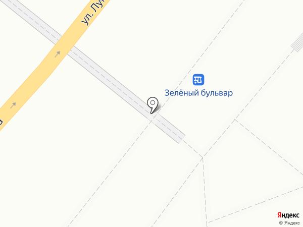 Студия Арины Смелой на карте Омска