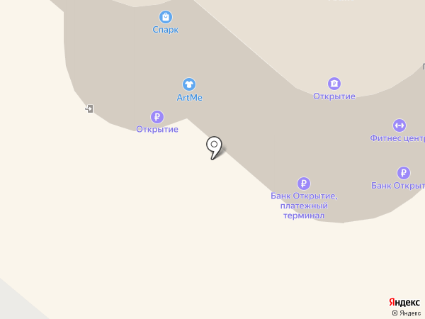 Жасмин на карте Омска
