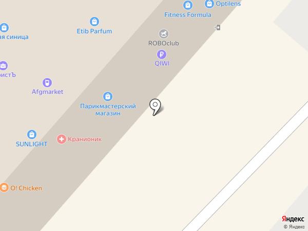 СОВУШКИ на карте Омска