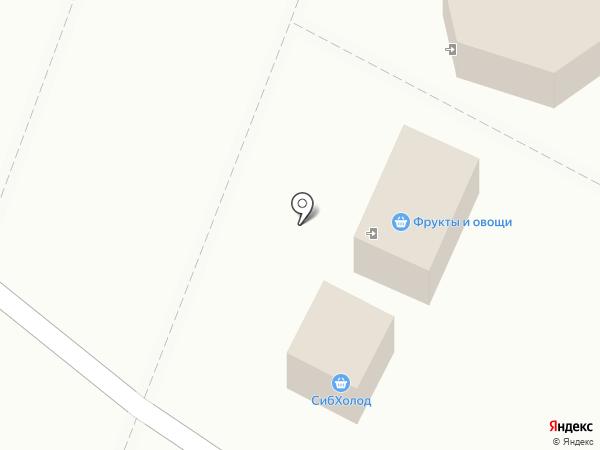 Магазин фруктов и овощей на карте Омска