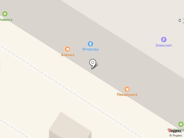 Охапка на карте Омска