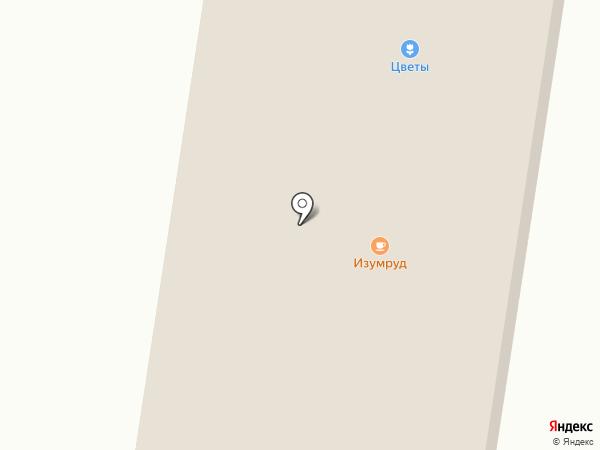 ИЗУМРУД ОМСК на карте Новоомского