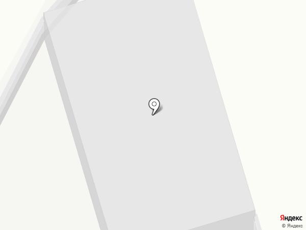Кристалл групп на карте Омска