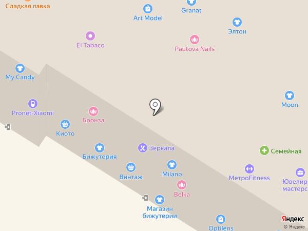 Домашний комфорт на карте Омска