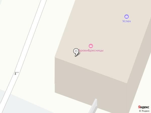 Арт-АП на карте Омска