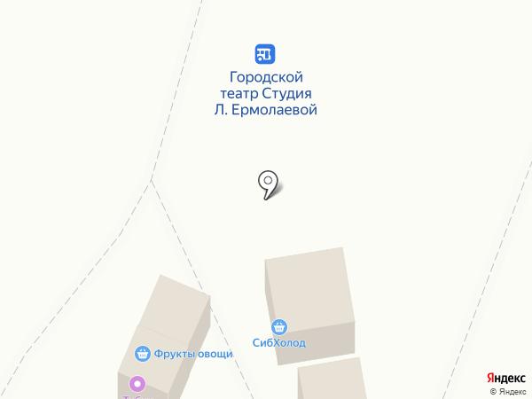Магазин молочных продуктов на карте Омска