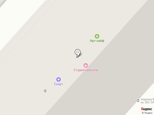 Коппер на карте Омска