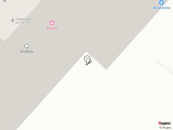 Дегелен на карте Омска