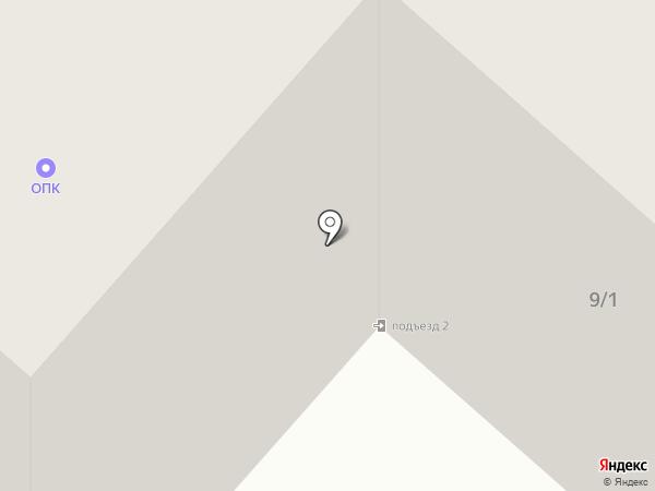 Автотрансэффект на карте Омска
