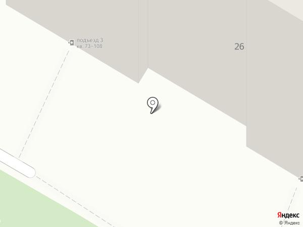 Старт на карте Омска