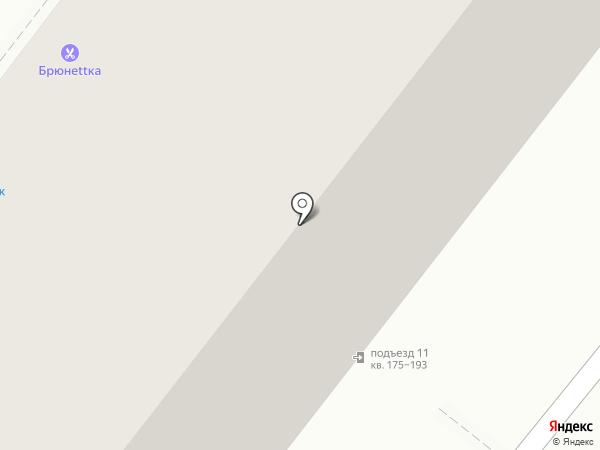 Маленький Эль на карте Омска