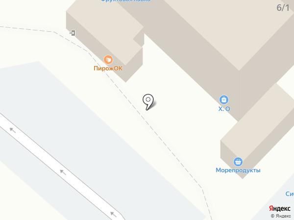 Колобок на карте Омска