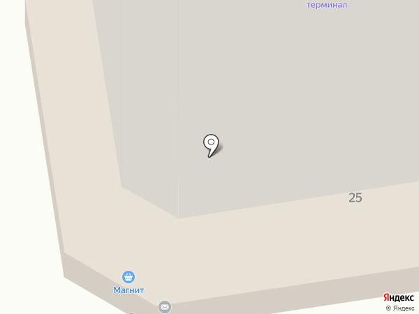 Завод сборного железобетона №5 Треста Железобетон на карте Омска