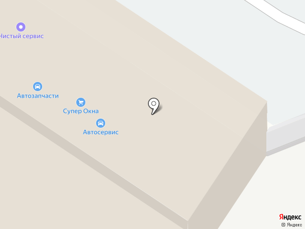 БОНДавто на карте Омска