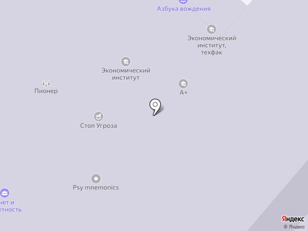 Крепыши на карте Омска