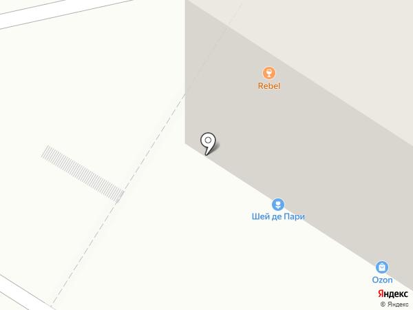 Rebel на карте Омска