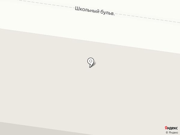 Уютный дом на карте Троицкого