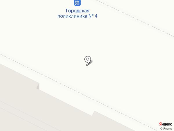 Дилижанс на карте Омска
