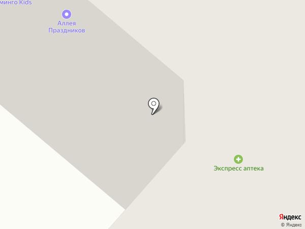 СТРОЙИНВЕСТ на карте Омска