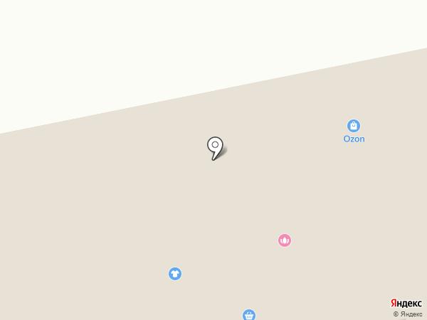 Магазин фруктов и овощей на карте Новоомского