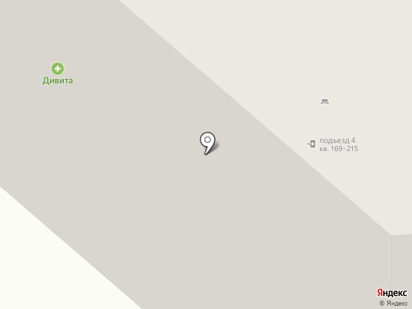 Полёт на карте Омска