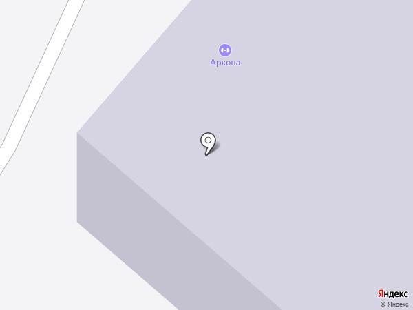 Тренажерный зал на карте Омска