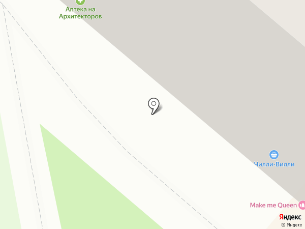 Японский домик на карте Омска