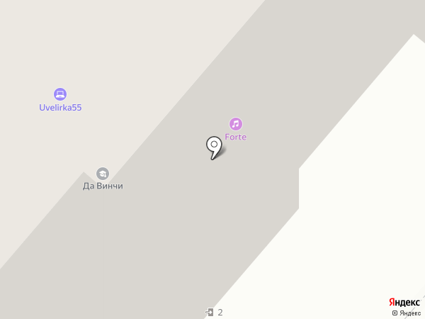 В-КОТ на карте Омска