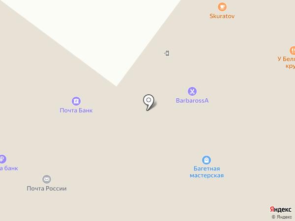 Адель на карте Омска