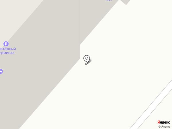 МансСтрой на карте Омска
