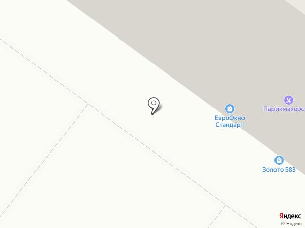 Автотаун на карте Омска